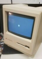 Apple Macintosh Plus 1MB M00001A Home computer powers on rebuilt power supply