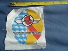 More details for unteroffizierskameradschaft aufklarungsgeschwader 51, german a.f. , cloth patch