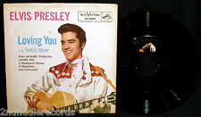 ELVIS PRESLEY-Teddy Bear+Loving You-Picture Sleeve & 45-RCA VICTOR #47-7000