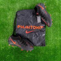 Nike Phantom GT Elite DF FG Black Red Soccer Cleats Men's Size 9.5 CW6589-060