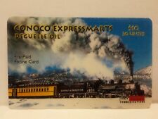 Conoco Express Marts Deguelle Oil Used Pre Paid Phone Card