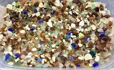 110pcs Genuine Surf Tumbled Sea beach Glass Mini and chips