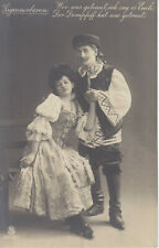 Vintage Postcard-Gypsy Baron - who are married, I tell you...