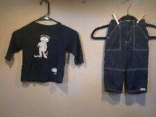 The Children's Place Black Long Sleeve Mummy Shirt & Pants 18 Months, Halloween