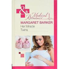 Barker, Margaret, Her Miracle Twins (Mills & Boon Hardback Medical), Very Good B