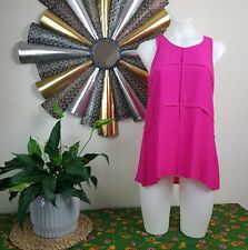 Portmans BNWT Size 6 Pink Sleeveless Light Top-  RRP - $59.95 - Corporate Casual