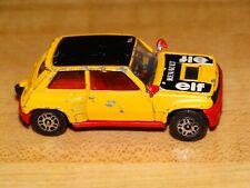 Corgi Renault 5 Turbo Yellow 1T
