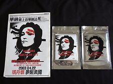 Madonna American Life Taiwan Ltd Promo 2-track CD Sealed Stickers Card Newspaper