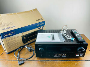 Denon AVR-X2600H Integrated Network AV Receiver 7.2 Channel 4K with Wi-Fi HEOS