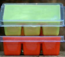 100hr 6pk CHRISTMAS SAGE Scented SOY WAX CLAM CANDLE MELTS SECRET SANTA GIFTS