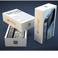 box sealed Apple iPhone 4s - 16GB - (Unlocked) Smartphone BOXED