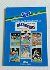 Seattle Mariners 1988 SURF Topps Baseball Card Book