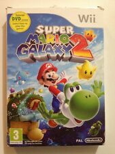 Super Mario Galaxy 2 PAL Format Mint With Rare Exclusive Tutorial Dvd OOP