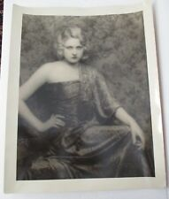 Vintage DeBarron Studio Photo of Ziegfeld Girl, Actress MARY NOLAN circa 1930