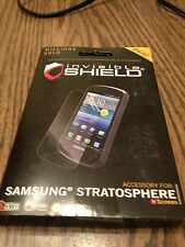 Zagg invisible shield screen protector Samsung Stratosphere (new)