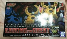 Dynamite Action No.15 Gaiking Great Evolution Limited Plated Color Edition MISB