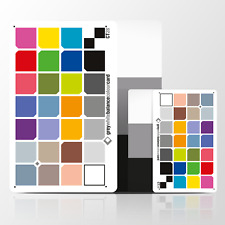 The NEW CT 28 Colour Card: Duo Card Set - Waterproof PVC Card