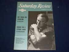 1960 NOVEMBER 26 SATURDAY REVIEW MAGAZINE - SVIATOSLAV RICHTER - SP 9471