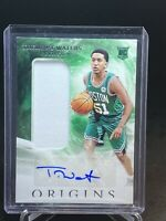 2019-20 ORIGINS TREMONT WATERS ROOKIE PATCH AUTO BOSTON CELTICS RPA RC