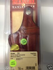 Bianchi  Pistol Pocket Holster Model 3S, Left Hand Tan, Part #18015