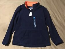 NWT The Childrens Place Boys Dark Blue Sweatshirt Size Med (7-8)