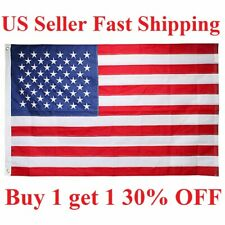 3'x 5' Ft American Flag U.S.A U.S. Us United States Stripes Stars Brass Grommets