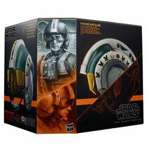 Star Wars - Hasbro Elektronischer Premium-Helm Wedge Antilles (The Black Series)