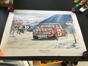 Mini Monte Carlo, poster only , ready to frame