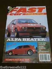 FAST CAR - ALFA BEATER - MARCH 1990