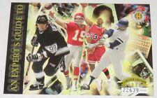 1994 Michael Jordan/Gretzky/Montana/Jackson Expert's Guide Jumbo Card Serial #