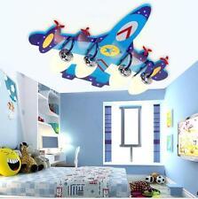 Plane LED Ceiling Light Pendant Lamp Lighting Kid Child Boy Flight Dream Bedroom
