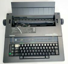 Brother Compactronic 300M Electronic Typewriter w/ Carrying Handle and Key Cover