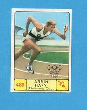 CAMPIONI dello SPORT 1968-69-Figurina n.486- HARY - GERMANIA OCC. -NEW