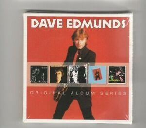 DAVE EDMUNDS - 5 ORIGINAL ALBUM SERIES  - NEW AND SEALED 5 DISC CD SET  FREE P&P