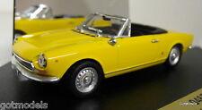 Vitesse 1/43 Scale 046B Fiat 124 BS1 Spider Sport Giallo diecast model car