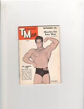 Gay Art Tomorrow's Man Muscle Bodybuilding Magazine Dick Dubois 9-54