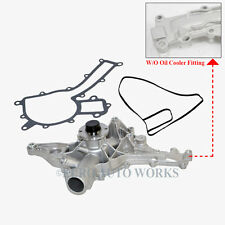 Mercedes-Benz Water Pump + Gasket W/O Oil Cooler Fitting OEM-Quality 1122001501