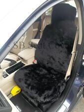 MITSUBISHI PAJERO / L 200 CAR SEAT COVERS -BLACK FAKE PANTHER FUR -FULL SET