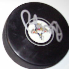 BRAD BOYES FLORIDA PANTHERS SIGNED HOCKEY PUCK w/ COA