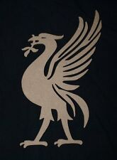 MDF Liverpool FC Liverbird unpainted wood craft shape plaque blank embelishment