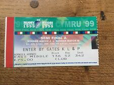 Australia V South Africa Semi Final Ticket Rugby World Cup 1999 Twickenham IRB 2