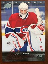 2015-16 UD Hockey Series 2 #461 Young Guns Zachary Fucale Pack Fresh