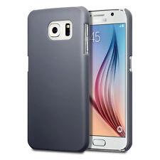 Samsung Galaxy S6 Case Hard Rubberised Hydbrid Tech Survival Rock Cover Grey