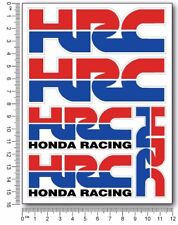 HRC motorcycle decals quality stickers Honda Racing cbr600rr cbr1000rr cbr