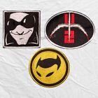 Set U2 Embroidered Patches Mr MacPhisto Logo The Fly Tour 360 Bono The Edge Rock