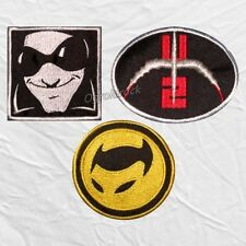 Set U2 Embroidered Patches Mr MacPhisto Logo The Fly Tour 360 Bono The Edge Rock