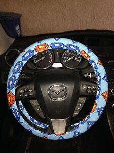 Superman Steering Wheel Cover