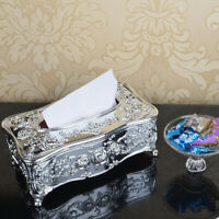 Retro Vintage Style Tissue Box Acrylic Napkin Paper Cover Holder