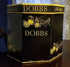 Dobbs 5th Avenue, Vintage Double Hat Box, With Hat Proctector Inside