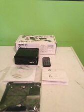 ASRock Beebox N3150/B/BB/EU Barebone Mini PC - Black - Untested